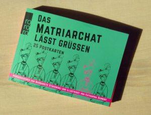 """das Postkartenbuch """"Das Matriarchat lässt grüßen"""""""