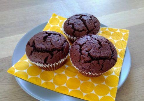 Die weltbesten Schokoladenmuffins …